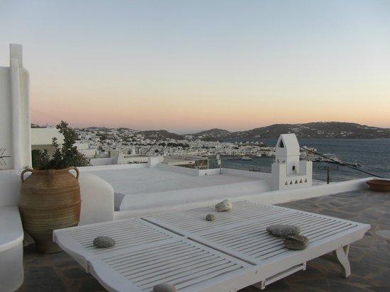Marina View: impresionante vista desde la terraza