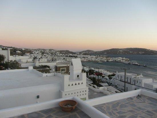Marina View: terraza