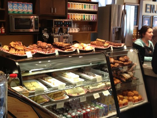 The Beanery Cafe: Fresh baked pastries every day!