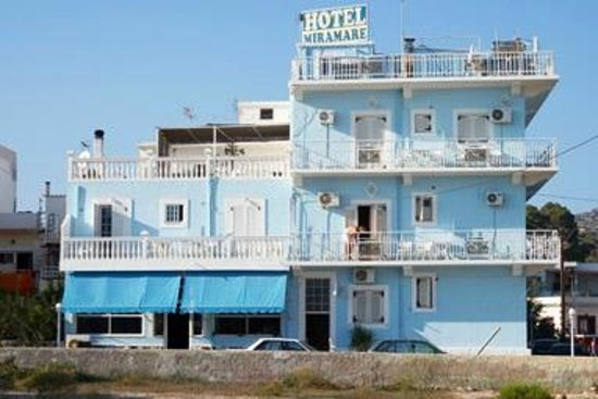 Hotel Miramare: miramare lakki leros port