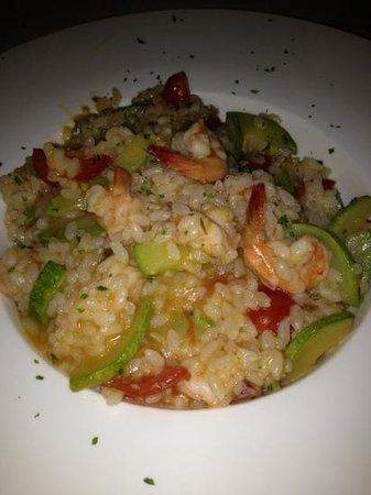 Casa Mia Italian Restaurant: seafood risotto
