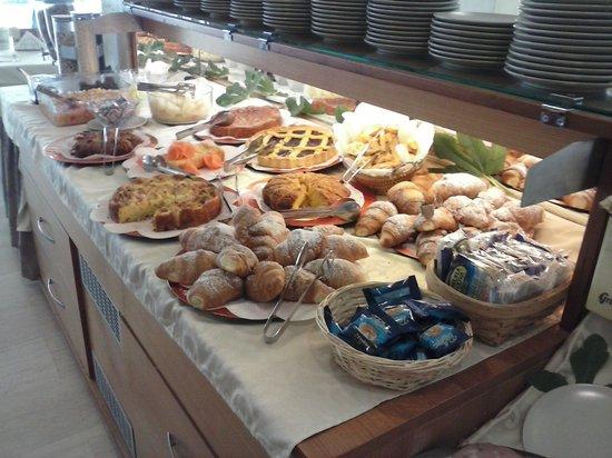 Hotel Augusta : colazione.. prima parte..