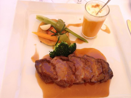 Moulin de la Camandoule : plat