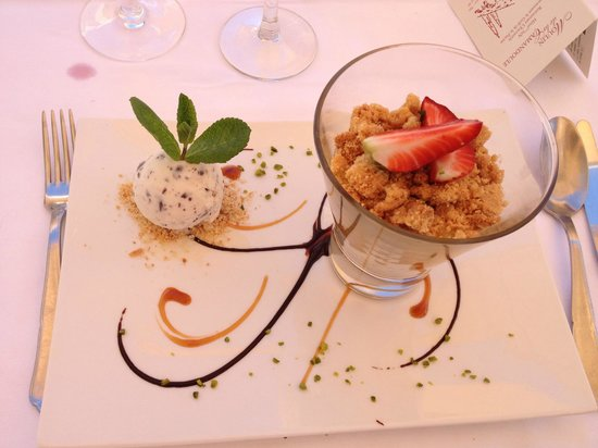 Moulin de la Camandoule : dessert