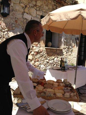 Moulin de la Camandoule : plateau de fromage