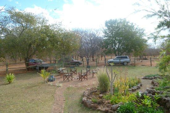 Prana House & Prana Tented Camp Zambia: the garden