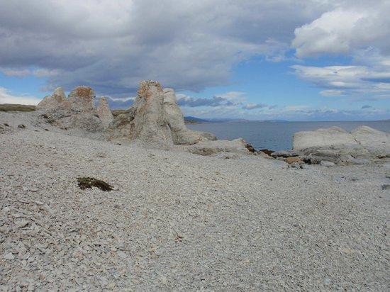 """Trollholmsund : Rock formations - """"frozen trolls"""""""