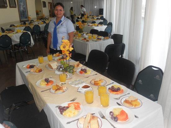 Las Americas Hotel: Evento de desayuno