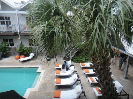 Truman Hotel: Area da piscina/cafe da manhã