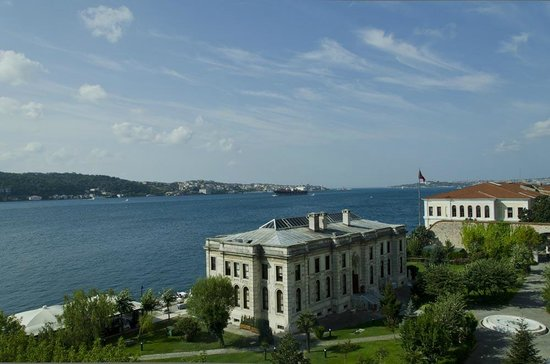 Radisson Blu Bosphorus Hotel, Istanbul: View from our room on the 5th Floor