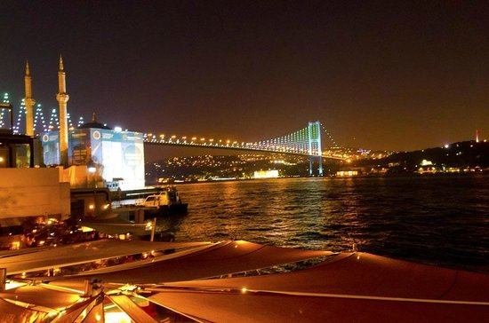 Radisson Blu Bosphorus Hotel, Istanbul: View from the terrace of the hotel
