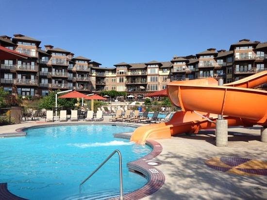 The Cove Lakeside Resort: calm before the storm ...of kids...loads of fun