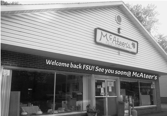 McAteer's: Front entrance