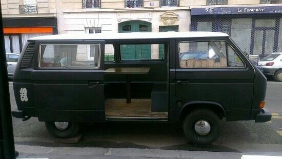 """40/60 : le terrasse """"Camionnette"""""""