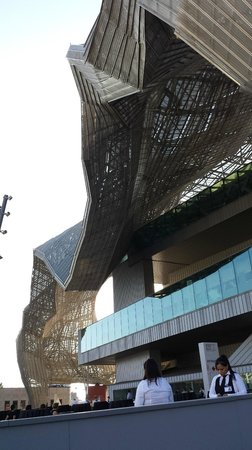 Milano Convention Center: outside structure