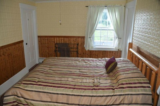 Chesuncook Village, ME: South Side Upstairs Bedroom away from the lake