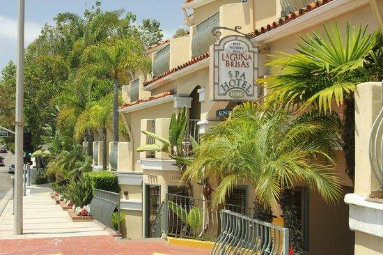Laguna Brisas Hotel: Вид с Ocean way