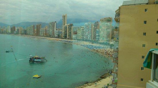 Hotel Benikaktus: vistas desde el hotel