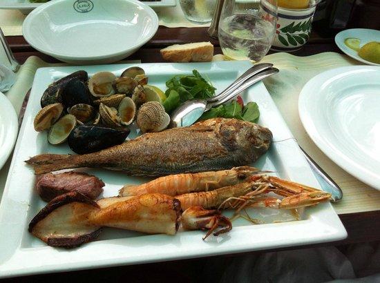 Restaurant Nada : Absolutely wonderful, fresh local seafood