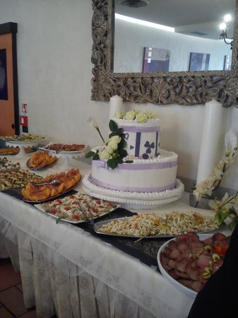 Hotel Villa Paola: Buffet Ferragosto