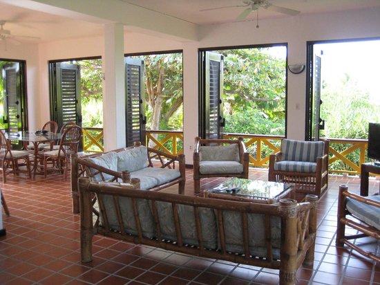 أناكونا بوتيك هوتل: Living area