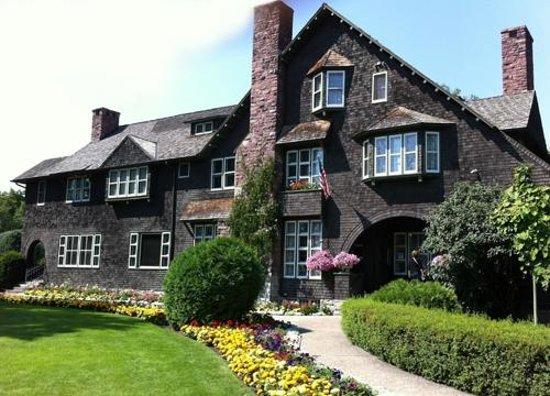 Conrad Mansion entrance, Kalispell, MT