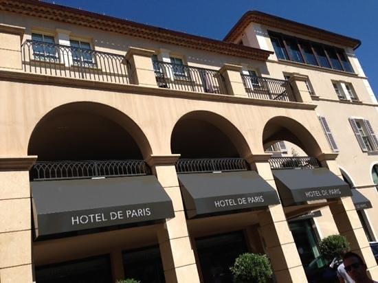 Hôtel de Paris Saint-Tropez : front
