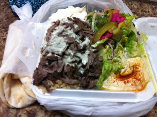 Shawarma Palace: Platter of goodness!!
