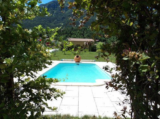 La Maison Templiere, notre piscine