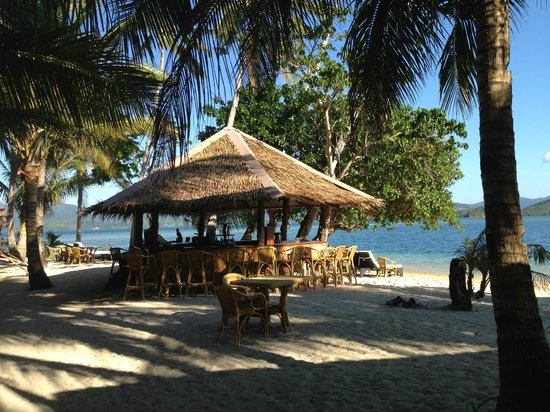 Entalula Island: The lunch place