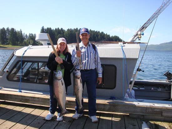 Ear Mountain Charters: Two King Salmon