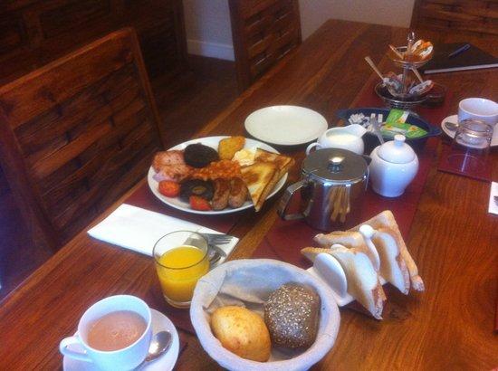 The Farmhouse Bed & Breakfast: Breakfast