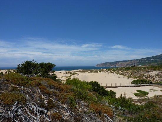 Orbitur Guincho: les dunes avant plage de guincho