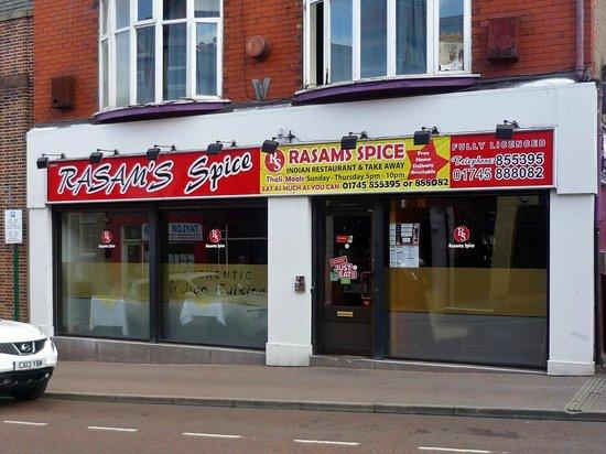 Rasam's Spice, Prestatyn