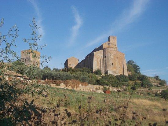 Church of San Pietro: san pietro tuscania - panoramica 1