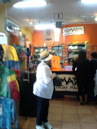 Cafe del Fraile: One of the stores located on the second floor that has everything Ecuadorian!