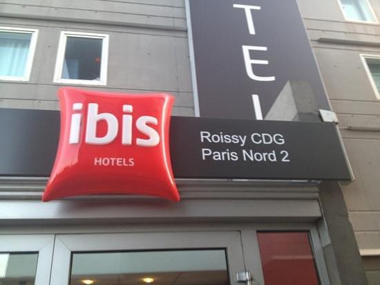 Ibis Roissy CDG Paris Nord 2: exterieur