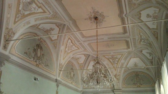 Hotel Villa Stanley: Photo of lounge ceiling