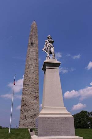 Bennington Battle Monument: Great view of soldier and monument