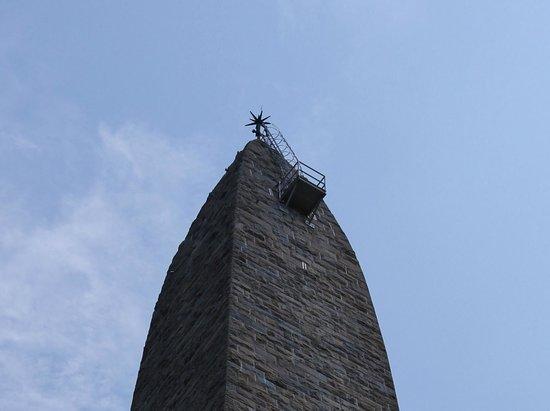 Bennington Battle Monument: Top viewing area