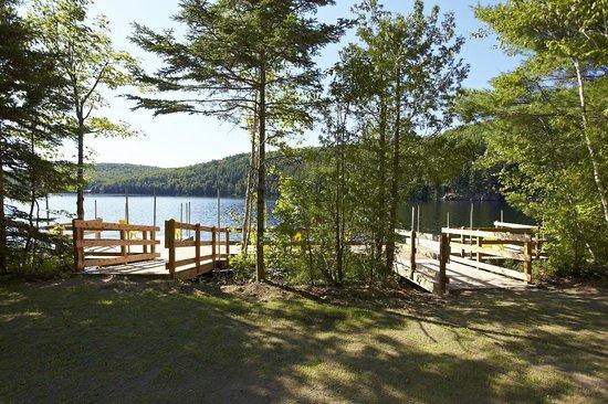 Chalets Lanaudière: Quai du Parc Morgan