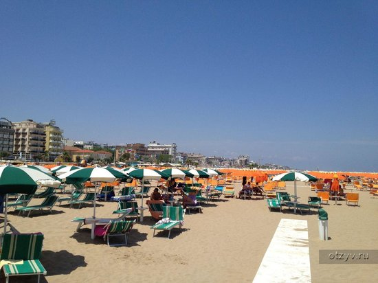 Sunset Hotel: Пляж