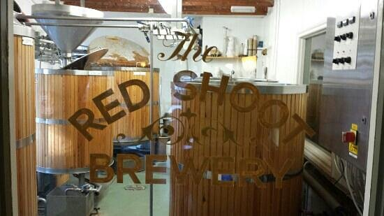 The Red Shoot: Red shoot micro brewery