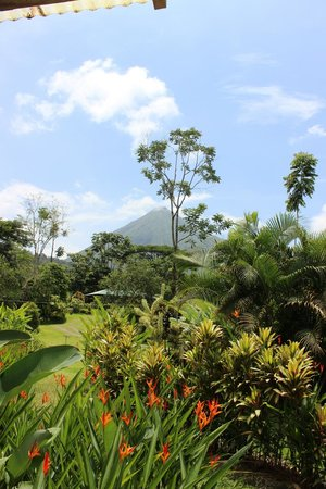 Brisas Arenal Hotel: View from our porch