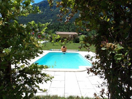 La Maison Templiere: Notre piscine