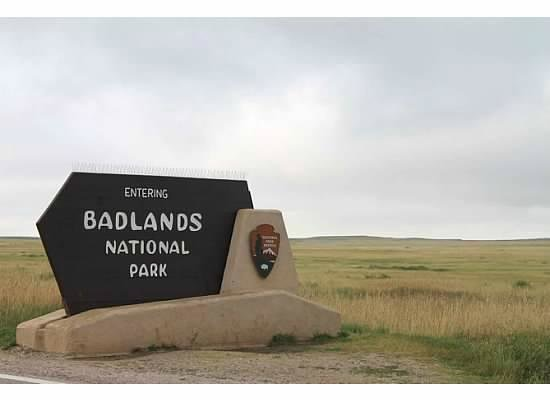 Cedar Pass Campground : National Park - West Entrance, near I-90 and Wall, SD.
