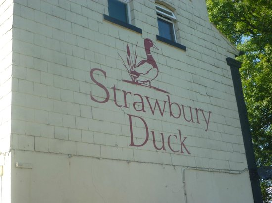 The Strawbury Duck: Beware - at least one meal on the menu is definitely ' not what it says on the tin!!!!!'