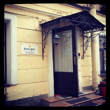 Fortezia Piter: Front door