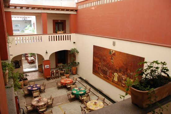 Restaurant del Hotel Casa Antigua