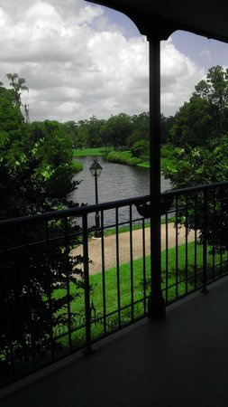 Disney's Port Orleans Resort - French Quarter : View from our room.